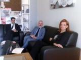 Συνάντηση με τον Εθνικό Εισηγητή για την καταπολέμηση της εµπορίας ανθρώπων και τον Διευθυντή του Γραφείου των ΗΕ για την καταπολέμηση της εμπορίας ανθρώπων & παράνομης διακίνησης μεταναστών