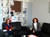 Συνάντηση της Γενικής Γραμματέως Διαφάνειας & Ανθρωπίνων Δικαιωμάτων, Μαρίας Γιαννακάκη, με την Ειδική Γραμματέα Κοινωνικής Ένταξης των Ρομά, κα Κατερίνα Γιάντσιου