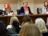 Ομιλία στο Συνέδριο της Ένωσης Περιφερειών Ελλάδας για τη φιλοξενία γυναικών προσφύγων στο δίκτυο δομών πρόληψης